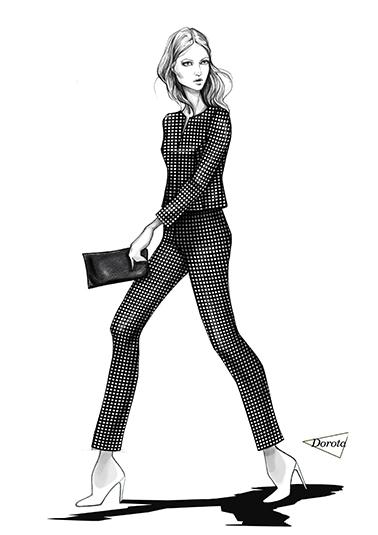 585b9b8d93 Wiadomości - Spodnie - Sklep z wizytową odzieżą dla kobiet w ...